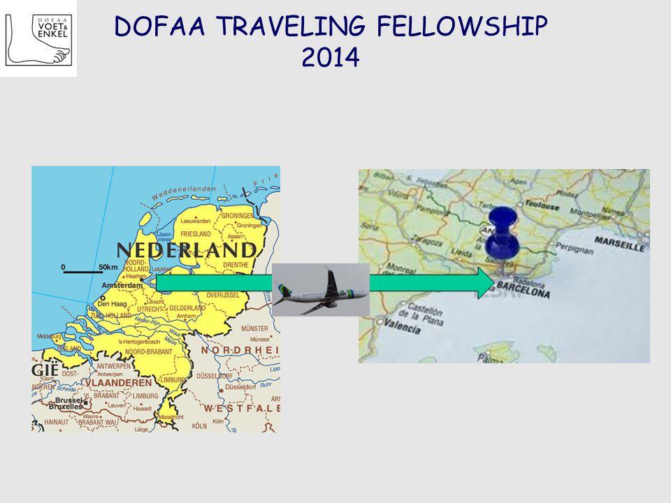 DOFAA TRAVELING FELLOWSHIP 2014
