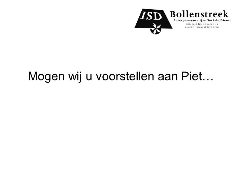 Mogen wij u voorstellen aan Piet…