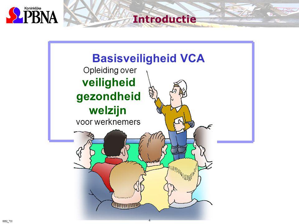 Basisveiligheid VCA Opleiding over veiligheid gezondheid welzijn voor werknemers Introductie 4 6652_700