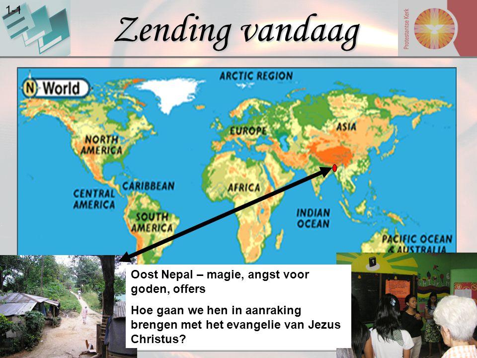 Zending vandaag 1-1 Oost Nepal – magie, angst voor goden, offers Hoe gaan we hen in aanraking brengen met het evangelie van Jezus Christus?