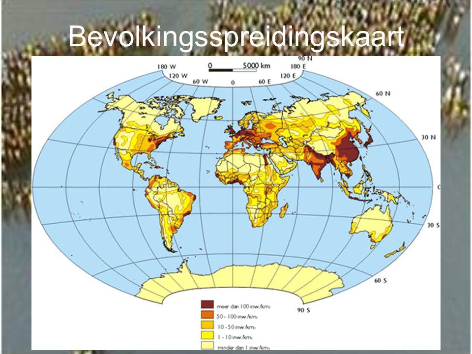 Bevolkingsspreidingskaart