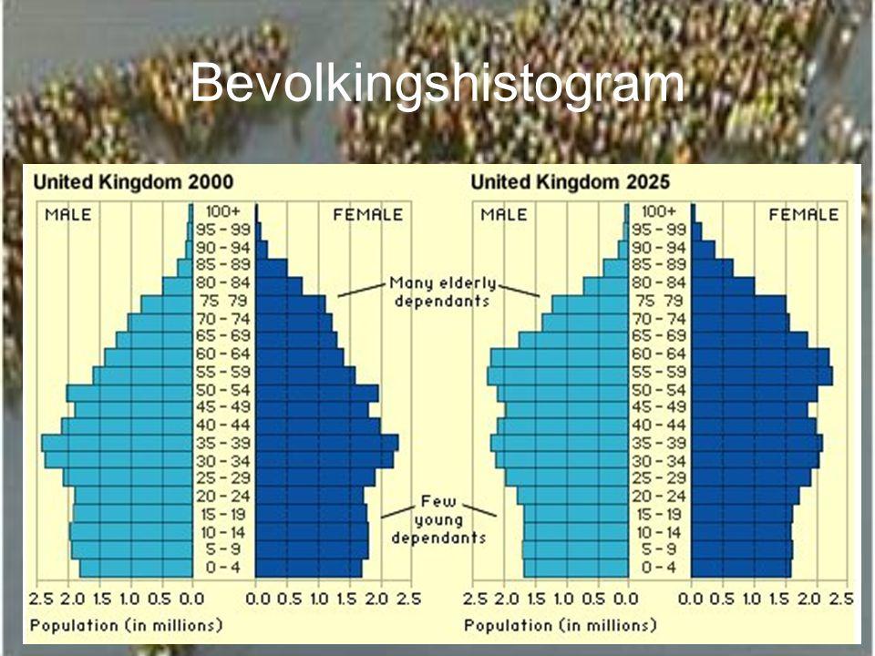 Bevolkingshistogram