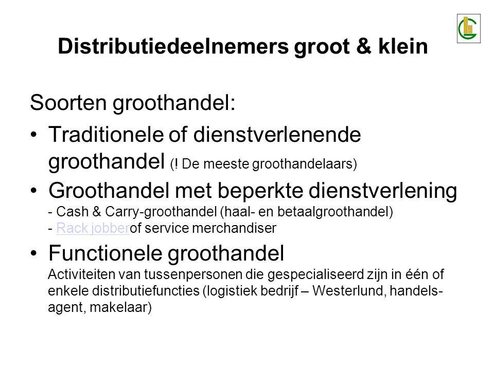 Soorten groothandel: Traditionele of dienstverlenende groothandel (.