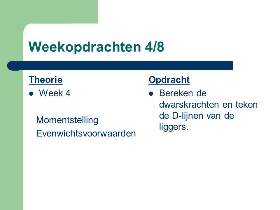 Weekopdrachten 3/8 Theorie Week 3 Momentstellingen evenwichtsvoorwaarden Opdracht Schematiseer de secundaire en primaire liggers en bepaal de oplegrea