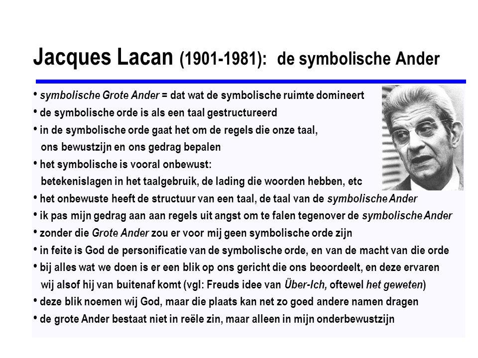 Jacques Lacan (1901-1981): het spiegel-stadium Het spiegel-stadium (vgl.