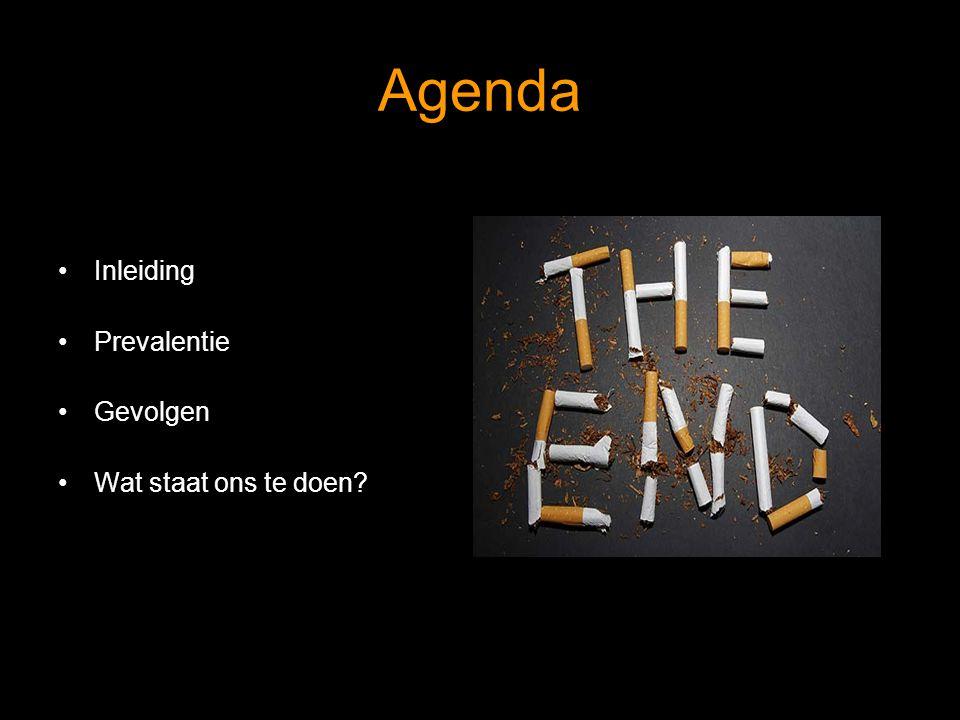 Agenda Inleiding Prevalentie Gevolgen Wat staat ons te doen?