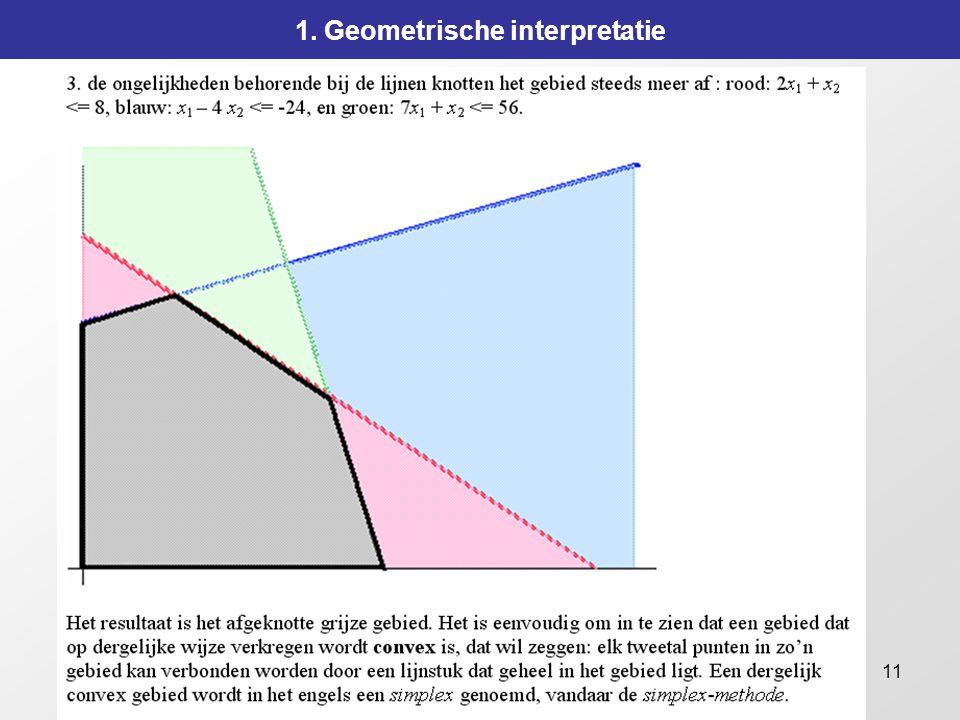 11 1. Geometrische interpretatie