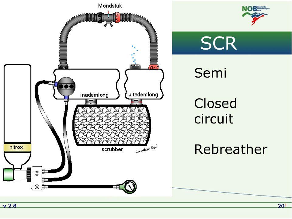 v 2.820 SCR Semi Closed circuit Rebreather