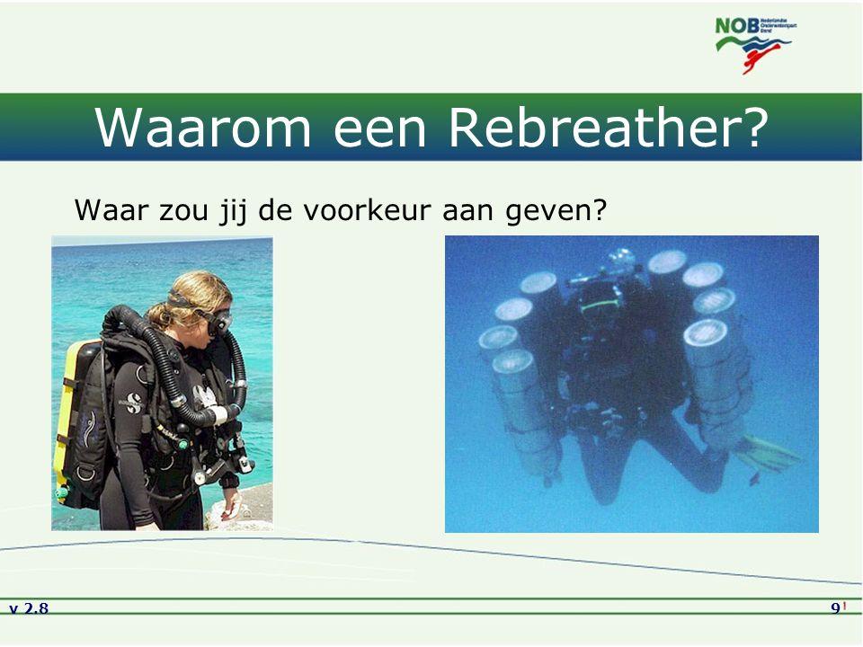 v 2.810 Waarom duiken met een Rebreather.