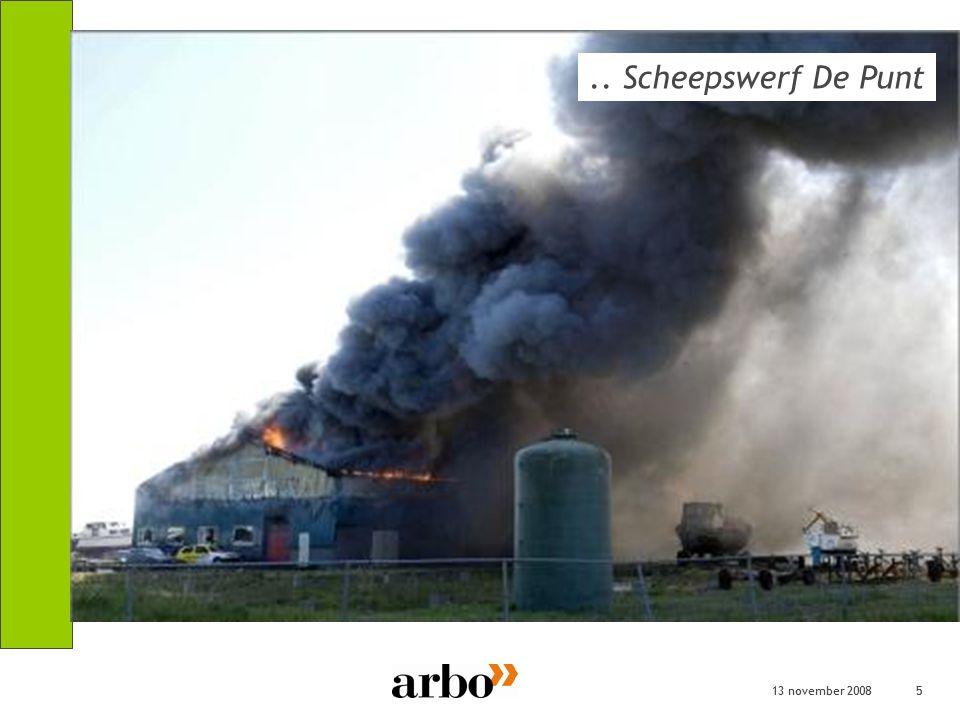 13 november 20085 5.. Scheepswerf De Punt