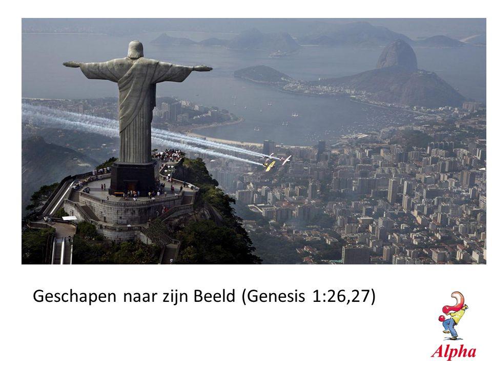 Geschapen naar zijn Beeld (Genesis 1:26,27)