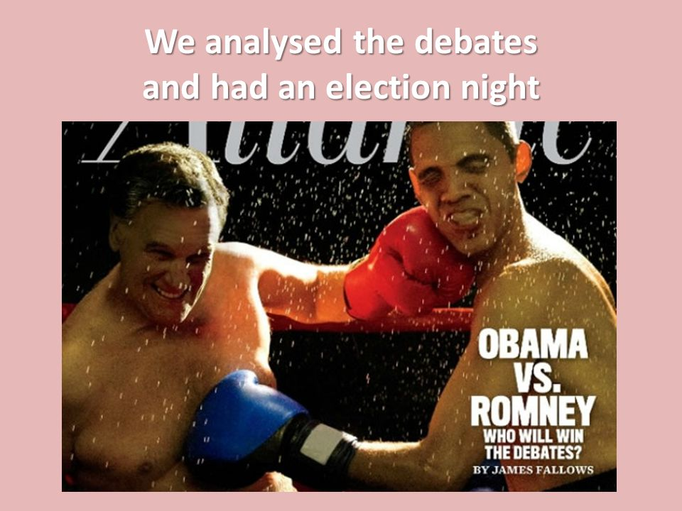 We analysed the debates and had an election night