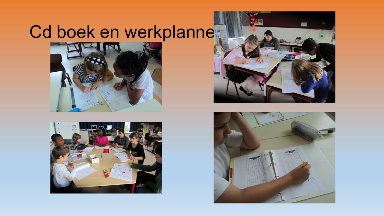 Cd boek en werkplanner
