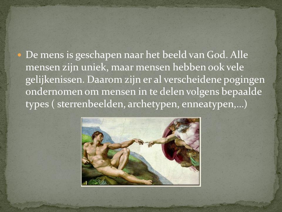 De mens is geschapen naar het beeld van God.