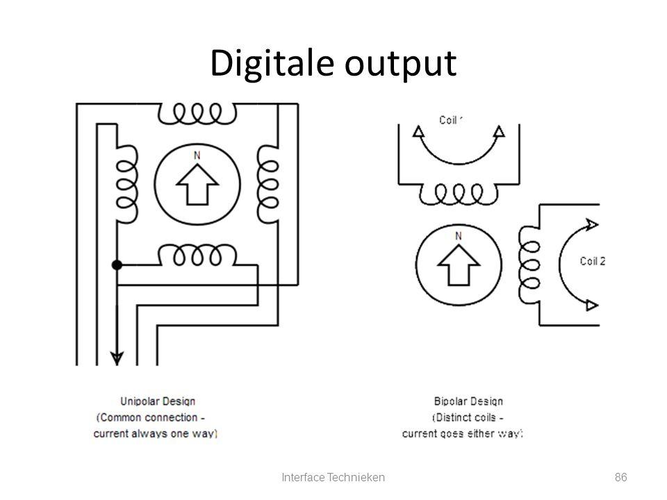 Interface Technieken86 Digitale output