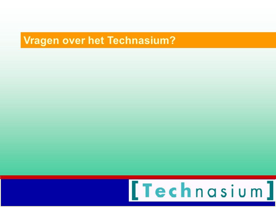 Vragen over het Technasium?