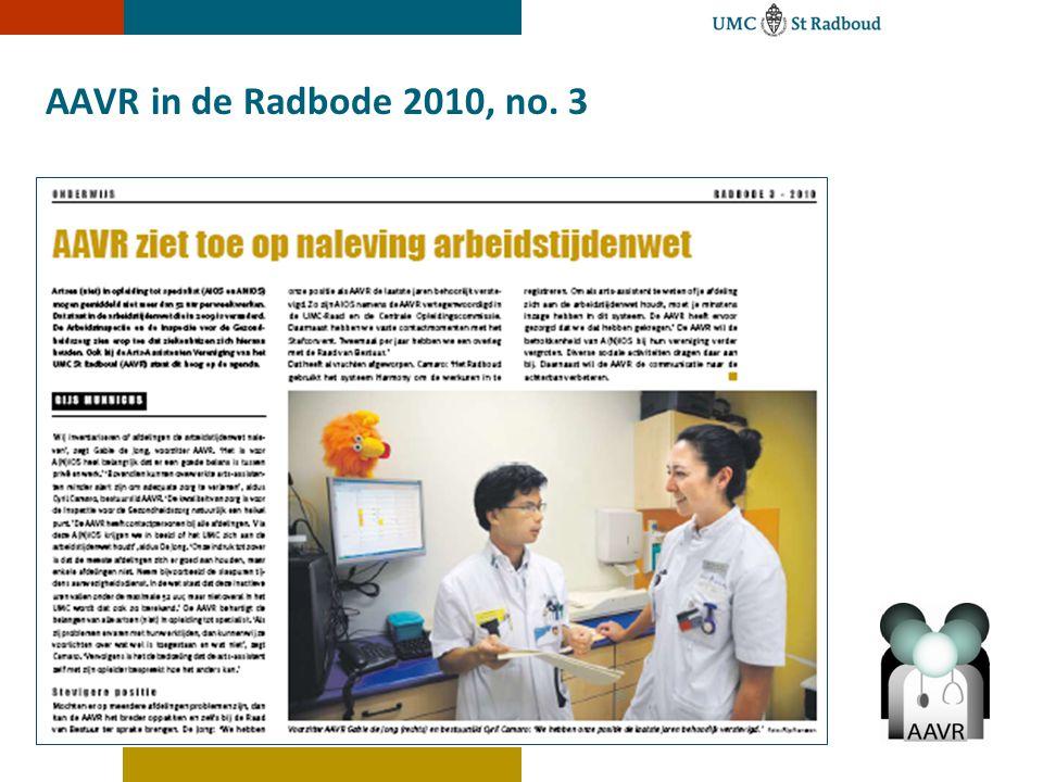 AAVR in de Radbode 2010, no. 3