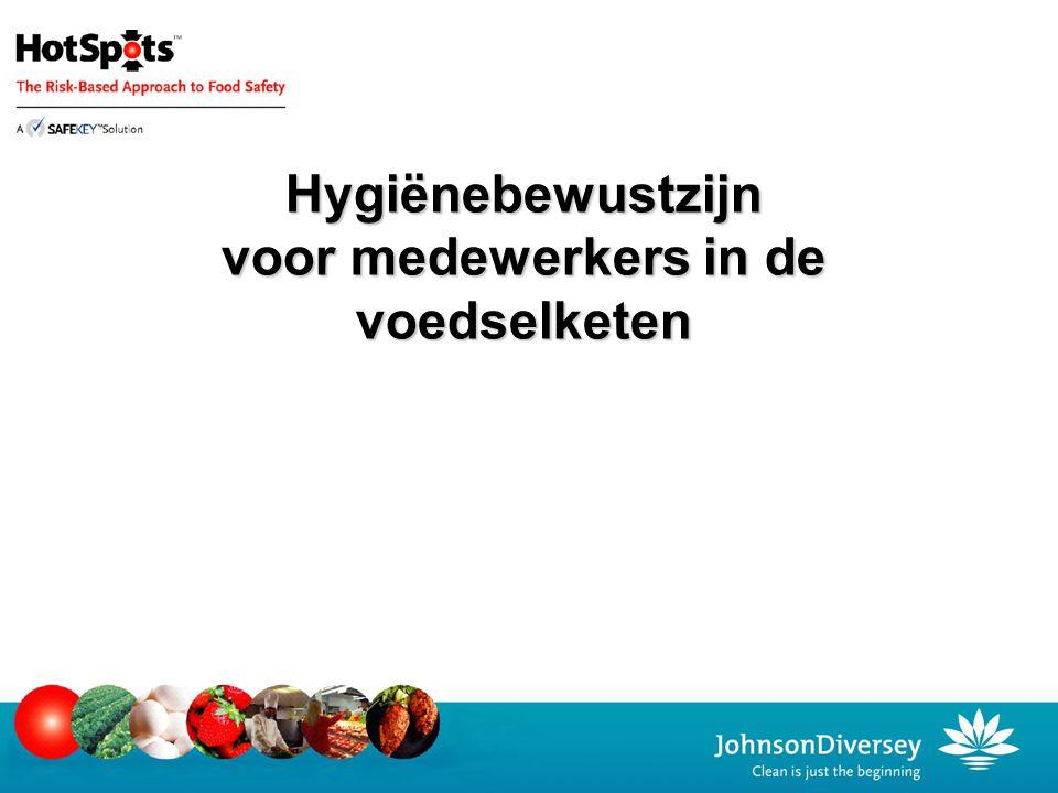 Hygiënebewustzijn voor medewerkers in de voedselketen