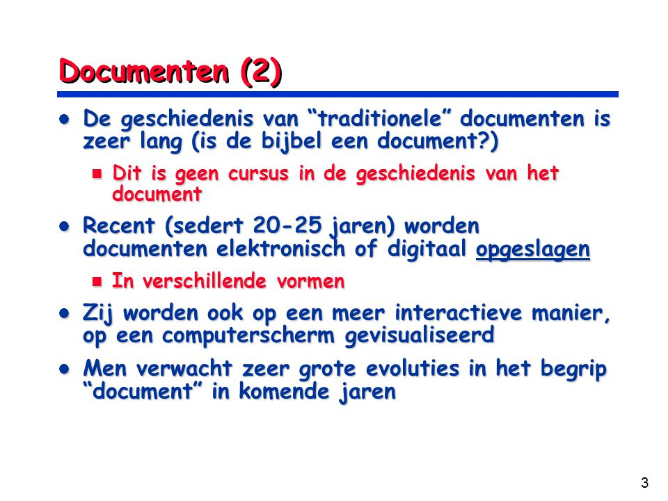 4 The Paper Document The Paper Document The Digital Document The Digital Document Bitmap PDL Styled Structured Papier & Digitale Documenten