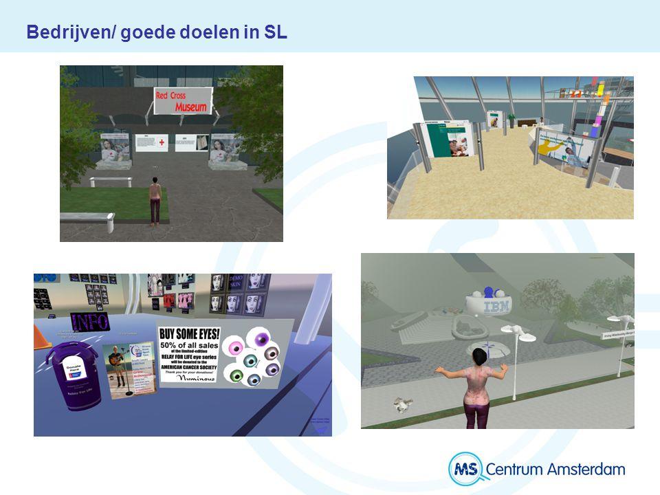 Wie zijn wij: MS Island VUmc Zie www.mscentrummamsterdam.nl voor een link naar het MS eiland op SL en een korte handleiding voor het gebruik van SL
