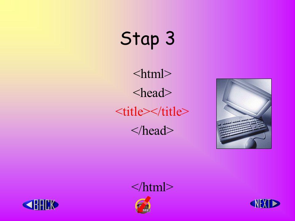 Stap 3