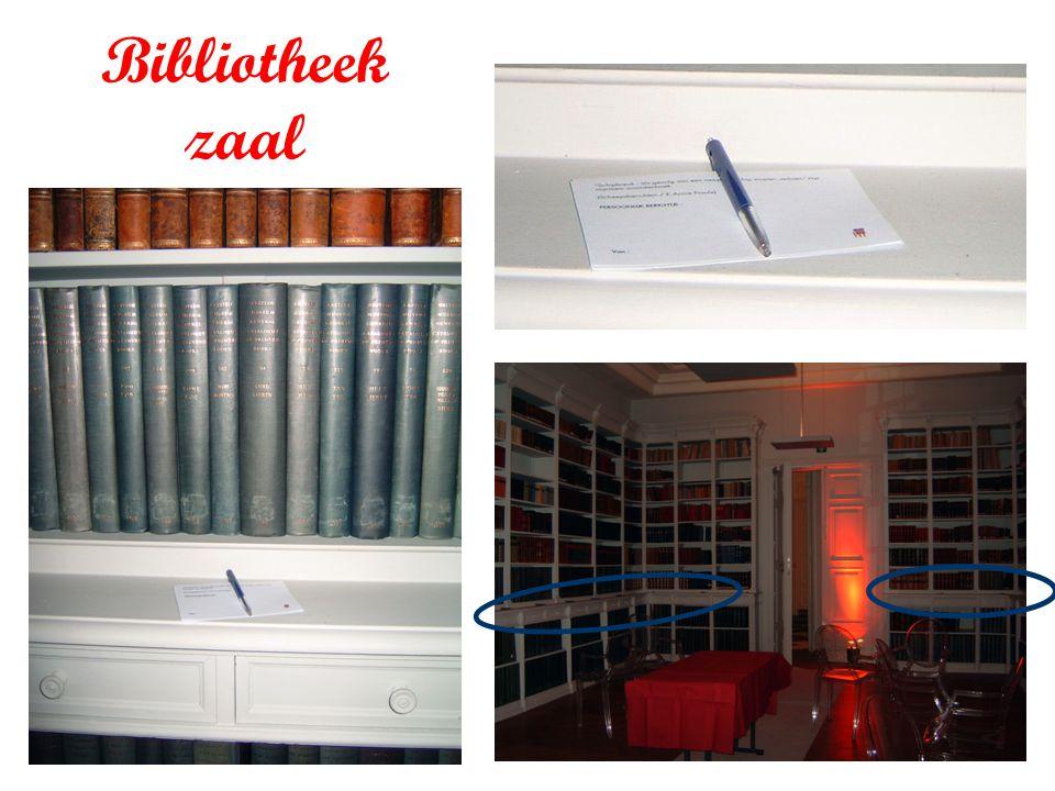 Bibliotheek zaal