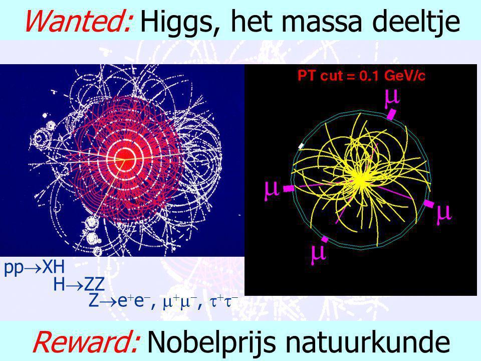 """F. Linde: MasterClass Natuurkunde April 2002 De """"hot issues"""": toekomst perspectief 1.willekeur deeltjes massa's 2.(hebben neutrino's massa?) 3.(materi"""