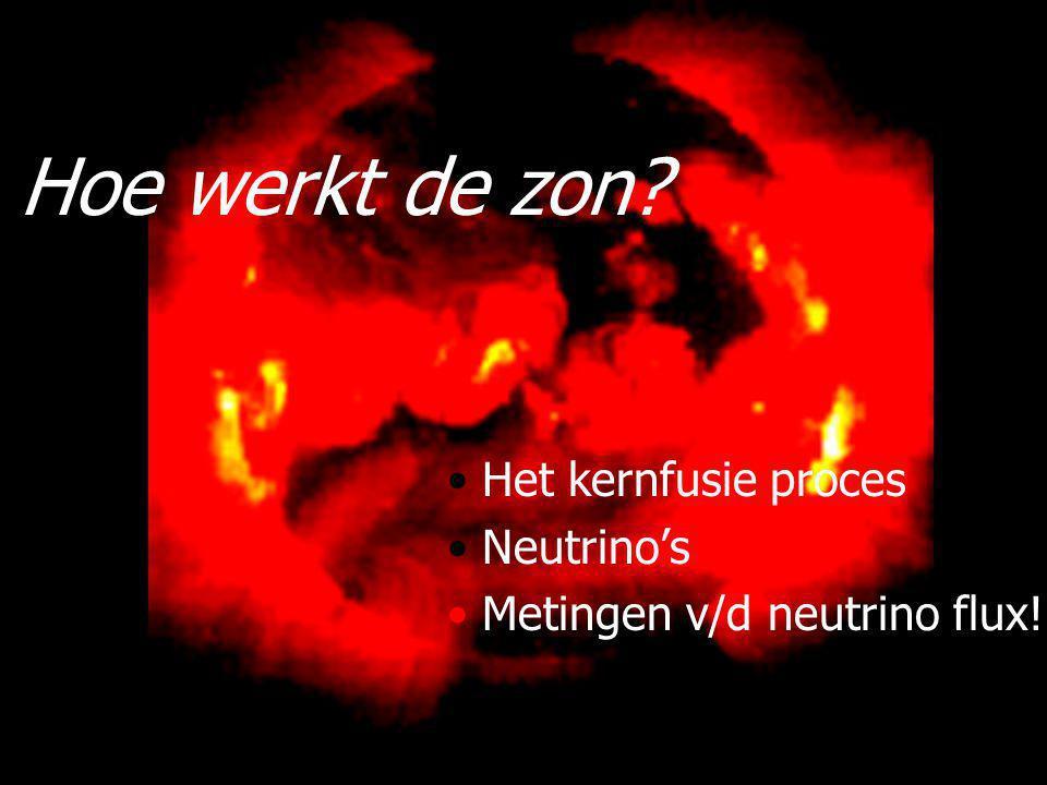 49 Reward: Nobelprijs natuurkunde Wanted: oerknal neutrino's 2.7 K fotons 1.9 K neutrino's.