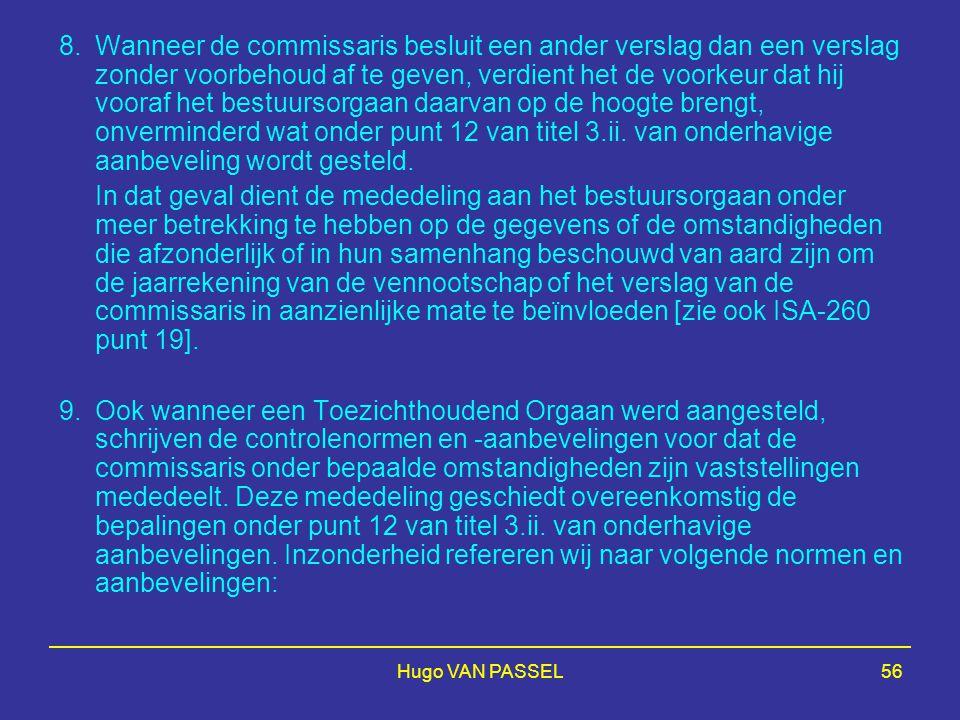 Hugo VAN PASSEL56 8.