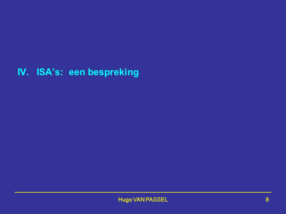 Hugo VAN PASSEL99 (Blanc) Unqualified audit opinion on the financial statements (if applicable: with an emphasis of matter paragraph) (or: Adverse Opinion/Disclaimer of Opinion)