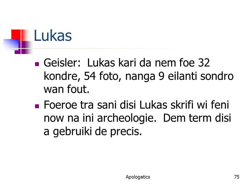 Lukas Geisler: Lukas kari da nem foe 32 kondre, 54 foto, nanga 9 eilanti sondro wan fout.