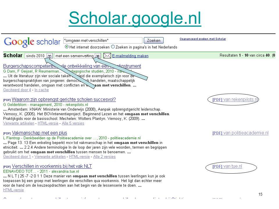 Scholar.google.nl 15