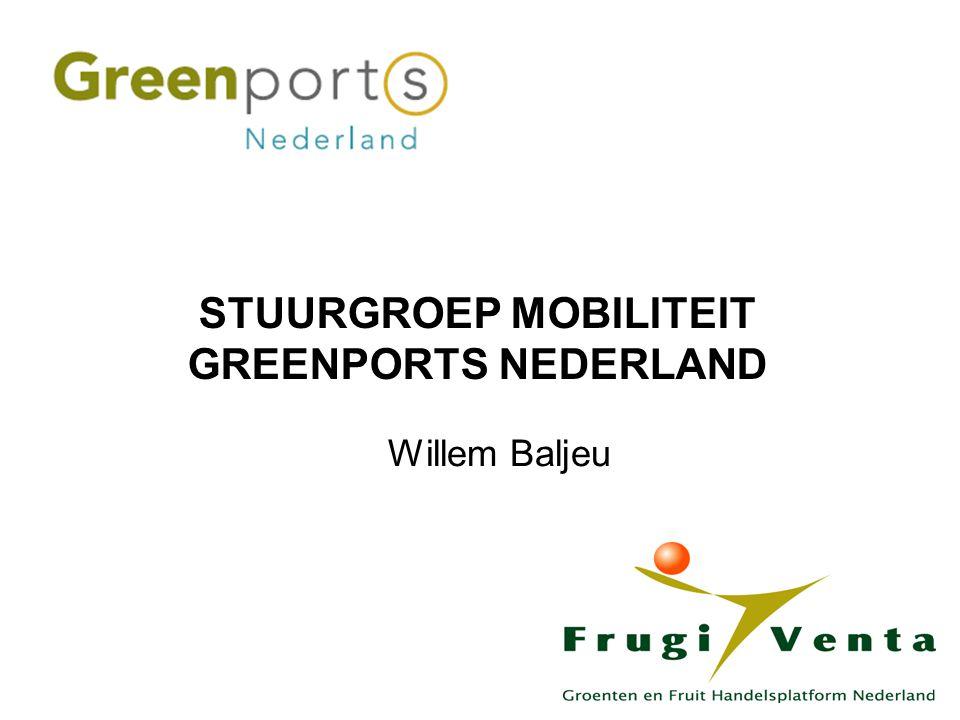 Willem Baljeu STUURGROEP MOBILITEIT GREENPORTS NEDERLAND