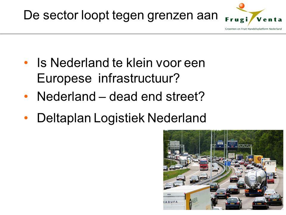De sector loopt tegen grenzen aan Is Nederland te klein voor een Europese infrastructuur.