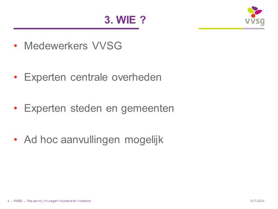 VVSG - 3. WIE .