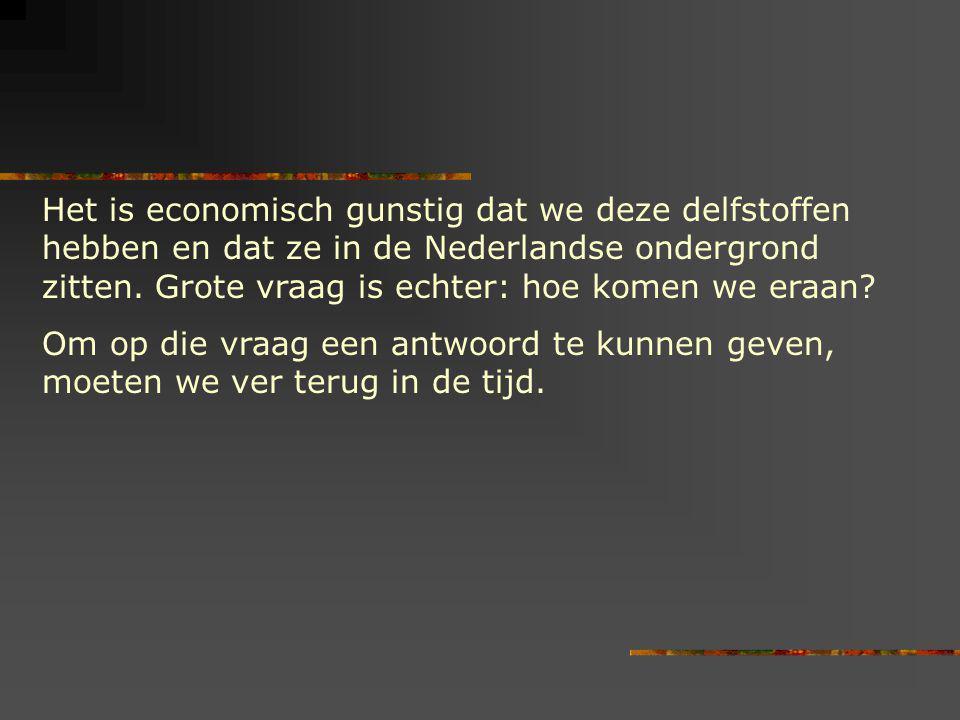 Het is economisch gunstig dat we deze delfstoffen hebben en dat ze in de Nederlandse ondergrond zitten. Grote vraag is echter: hoe komen we eraan? Om