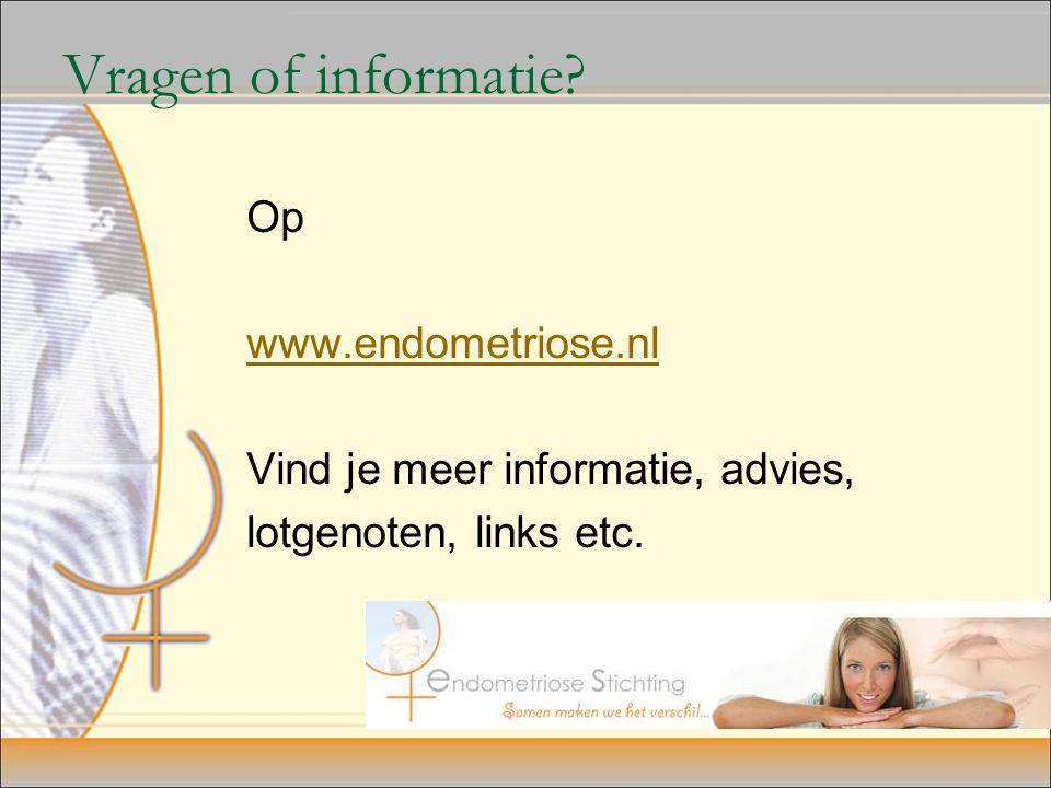 Vragen of informatie.