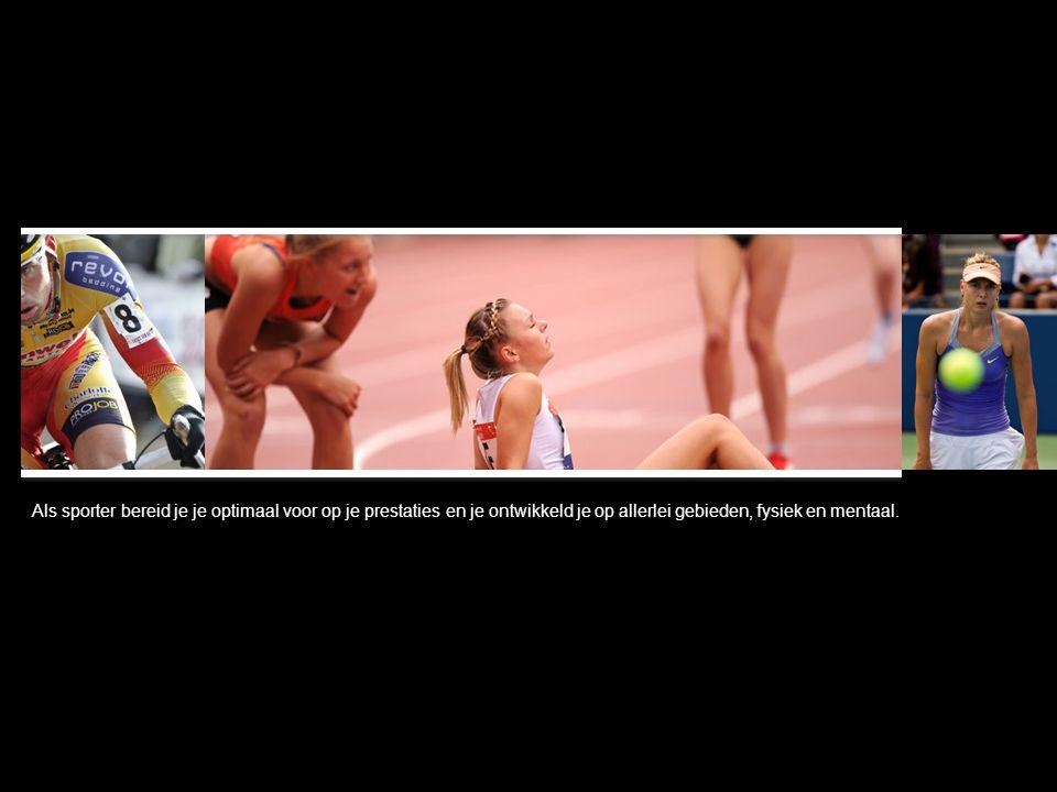 Dan is het tijdens de sportprestatie zaak al dat denken los te laten en het lijf het werk te laten doen.