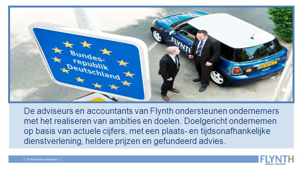 De adviseurs en accountants van Flynth ondersteunen ondernemers met het realiseren van ambities en doelen. Doelgericht ondernemen op basis van actuele