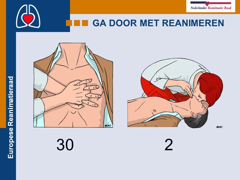 Europese Reanimatieraad GA DOOR MET REANIMEREN 302