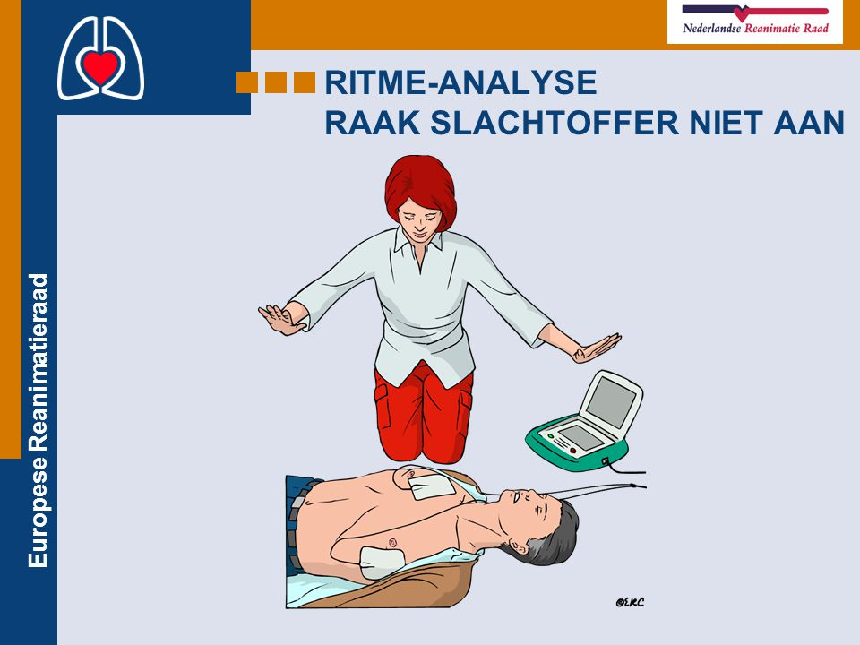 Europese Reanimatieraad RITME-ANALYSE RAAK SLACHTOFFER NIET AAN