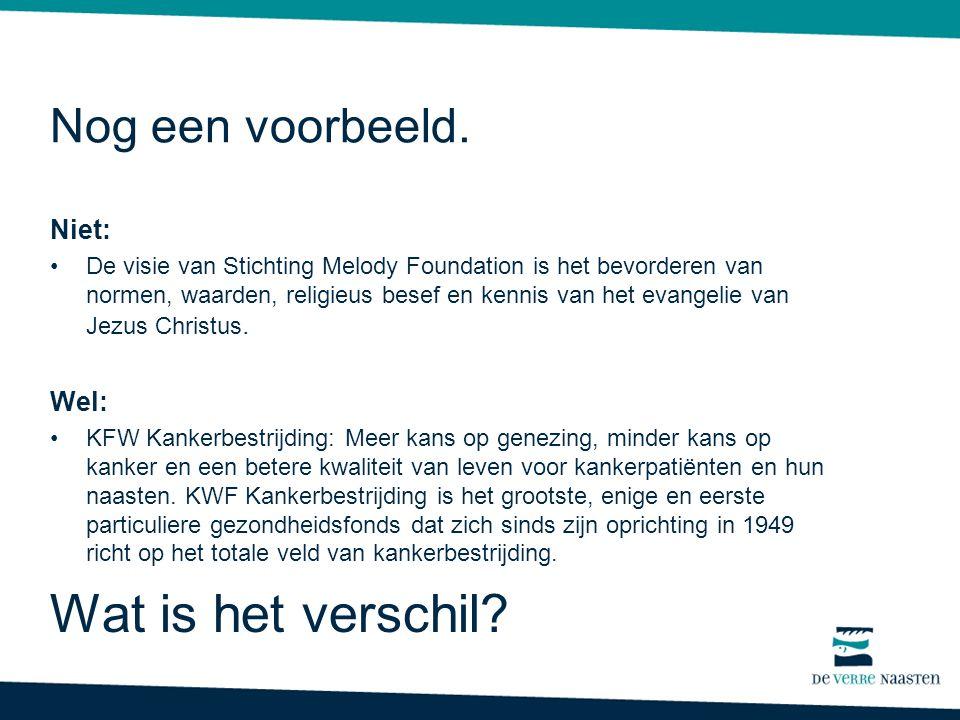 Niet: De visie van Stichting Melody Foundation is het bevorderen van normen, waarden, religieus besef en kennis van het evangelie van Jezus Christus.