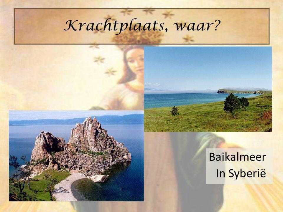 Baikalmeer In Syberië Krachtplaats, waar?