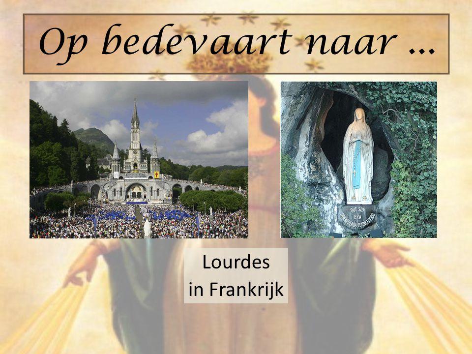 Lourdes in Frankrijk Op bedevaart naar...