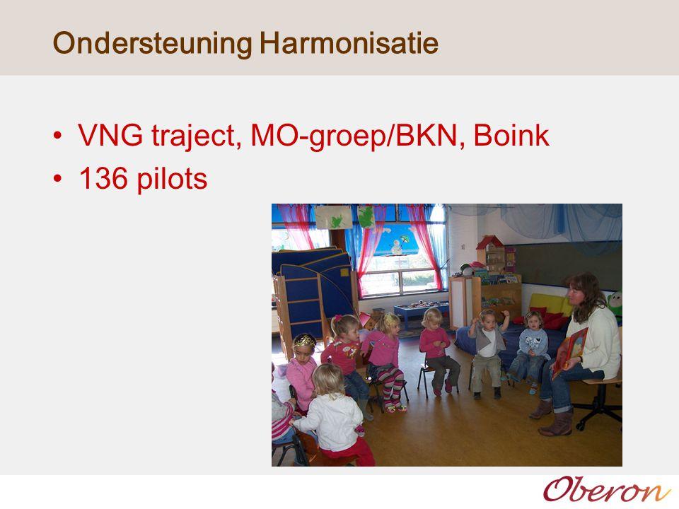Ondersteuning Harmonisatie VNG traject, MO-groep/BKN, Boink 136 pilots