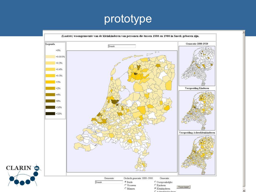 9 kaartmodule Meertens Instituut Webkaart van het Nederlandse taalgebied Geschreven in PHP + MySQL Open source (GPL), download vanaf www.meertens.knaw.nl/kaartwww.meertens.knaw.nl/kaart Huidige functionaliteit: punten (via plaatscodes) en vlakken (Nederlandse gemeentegrenzen) Genereert GIF/PNG/JPG of SVG.