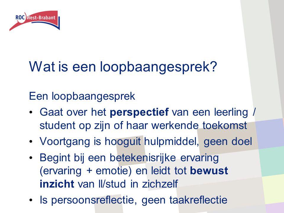 Soorten reflectie (Hattie & Timperley, 2007) Taakreflectie Wat ging er goed, wat niet.