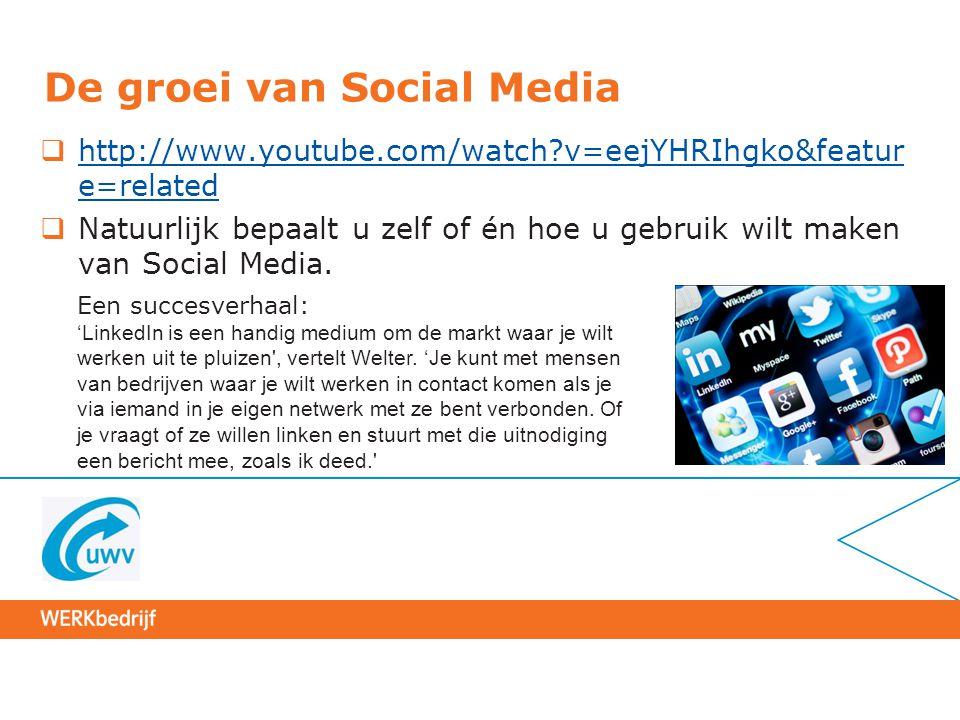 Programma  Wat zijn Social Media. Waar moeten we beginnen.