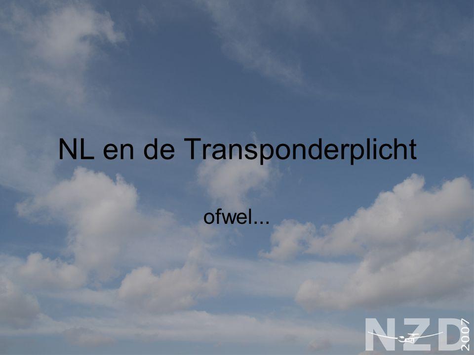 NL en de Transponderplicht ofwel...