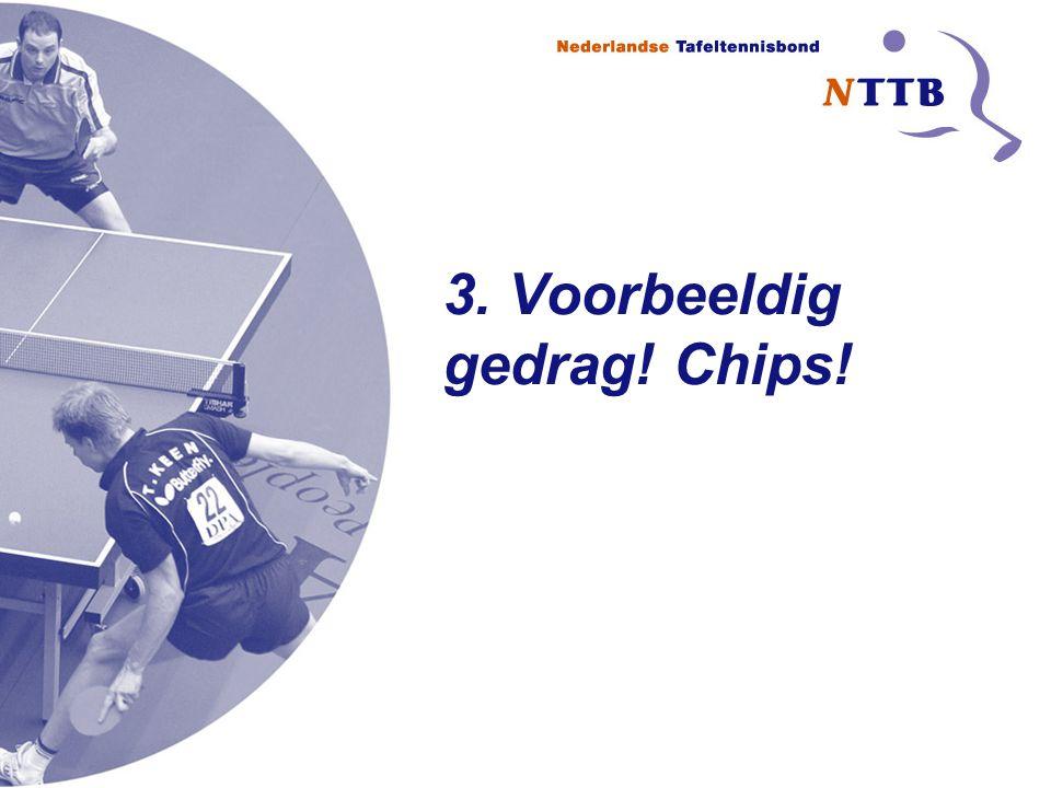 3. Voorbeeldig gedrag! Chips!